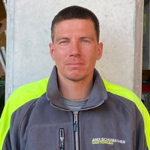 Jens Graack - Teamfoto Andi Schumacher Gartenbau