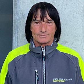 Roberto Bartolini - Teamfoto Andi Schumacher Gartenbau