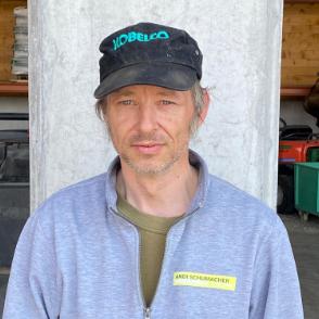 Roger Häupli - Teamfoto Andi Schumacher Gartenbau